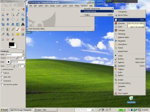 dockable layer dialog in GIMP