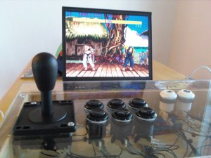 Finished MAME setup playing SFII