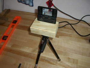 The ENV2 tripod in all it's glory