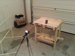 Stop motion animation setup